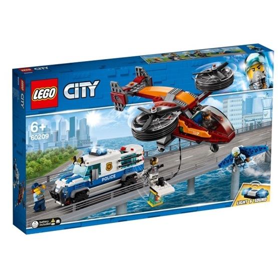 LEGO City Police 60209 - Luftpolisen och diamantkuppen