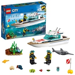 LEGO City Great Vehicles 60221 - Dykaryacht