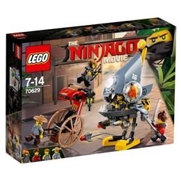 LEGO Ninjago Movie - Pirayans attack 70629