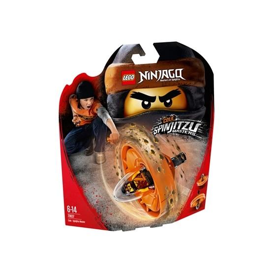 LEGO Ninjago 70637, Cole – spinjitzumästare