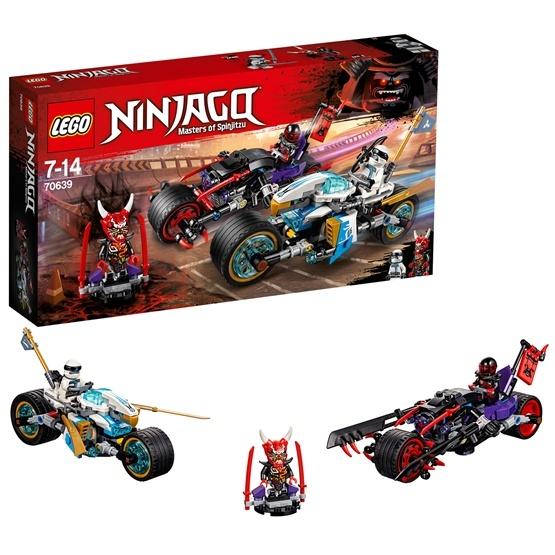 LEGO Ninjago 70639, Gaturace med motorcyklar