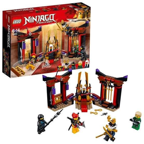 LEGO Ninjago 70651, Uppgörelse i tronsalen