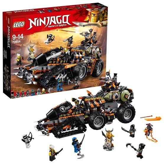 LEGO Ninjago 70654, Dieselnaut