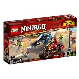 LEGO Ninjago 70667 - Kais vassa motorcykel & Zanes snöskoter
