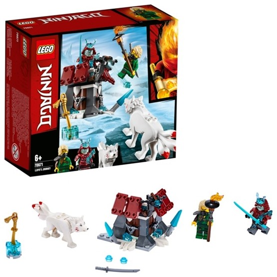 LEGO Ninjago 70671 - Lloyds resa