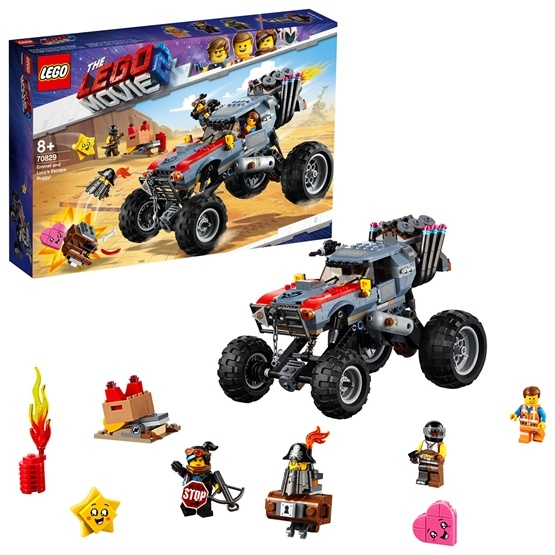 LEGO The Movie 70829, Emmet och Lucys flyktbuggy!