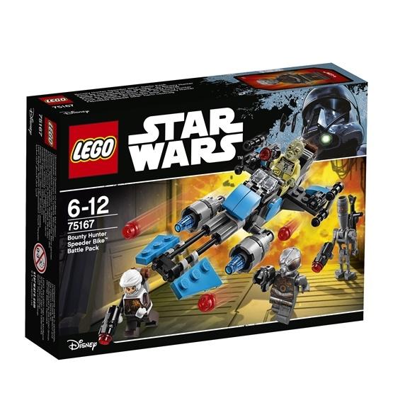 LEGO Star Wars 75167, Bounty Hunter Speeder Bike Battle Pack
