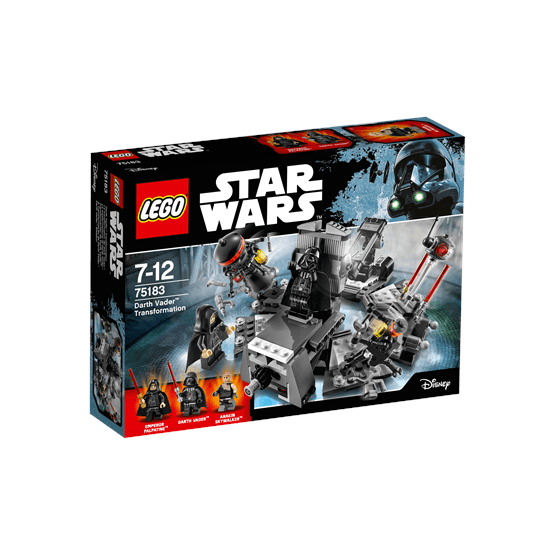 LEGO Star Wars 75183, Darth Vader Transformation