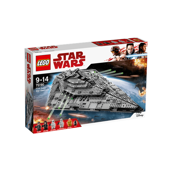 LEGO Star Wars 75190, First Order Star Destroyer