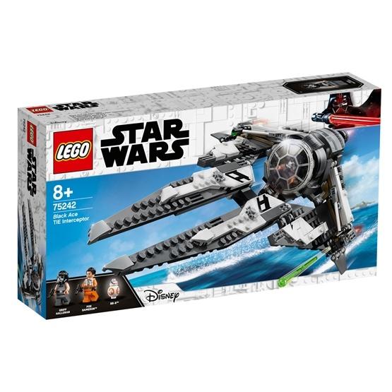 LEGO Star Wars 75242, Black Ace TIE Interceptor