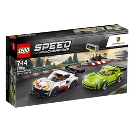 LEGO Speed Champions - Porsche 911 RSR och 911 Turbo 3.0 75888