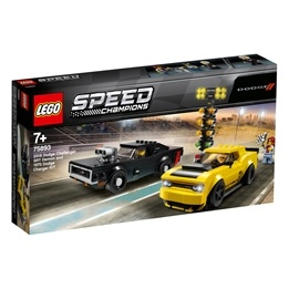 LEGO Speed Champions 75893 - 2018 Dodge Challenger SRT Demon och 1970 Dodge Charger R/T