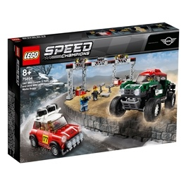 LEGO Speed Champions 75894 - 1967 Mini Cooper S Rally och 2018 MINI John Cooper Works Buggy