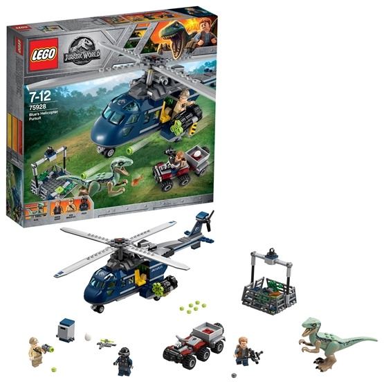 LEGO Jurassic World 75928, Blues helikopterjakt