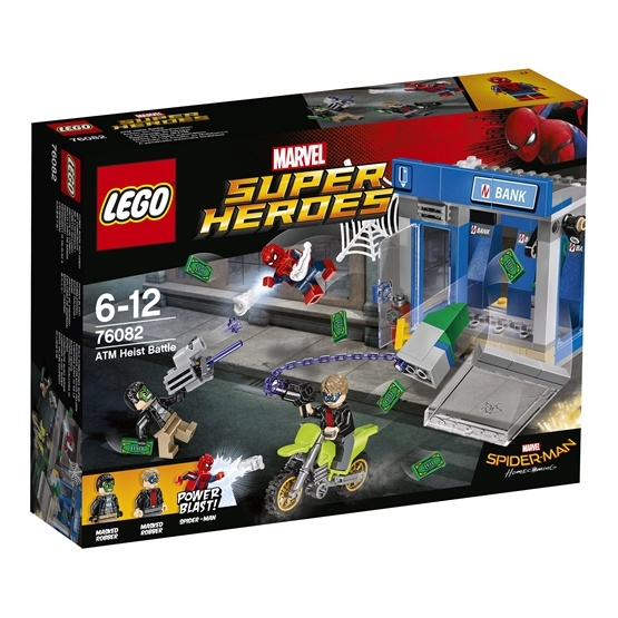 LEGO Super Heroes 76082, Bankomatkupp
