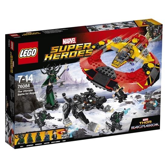 LEGO Super Heroes 76084, Den yttersta striden om Asgård