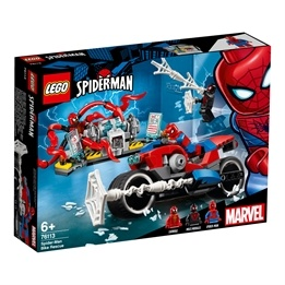LEGO Super Heroes 76113 - Spiderman motorcykelräddning