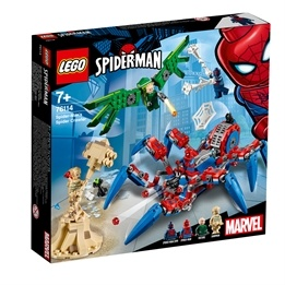 LEGO Super Heroes 76114 - Spidermans spindelrobot