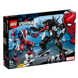 LEGO Super Heroes 76115 - Spindelrobot mot Venom