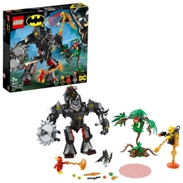 LEGO Super Heroes 76117 - Batman robot mot Poison Ivy robot