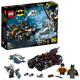 LEGO Super Heroes 76118 - Mr. Freeze mot Batcycle
