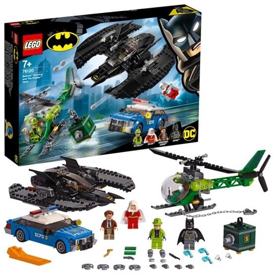 LEGO Super Heroes 76120 - Batmans Batwing och Gåtans kupp