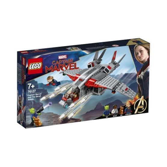 LEGO Super Heroes 76127 - Captain Marvel och Skrullattacken