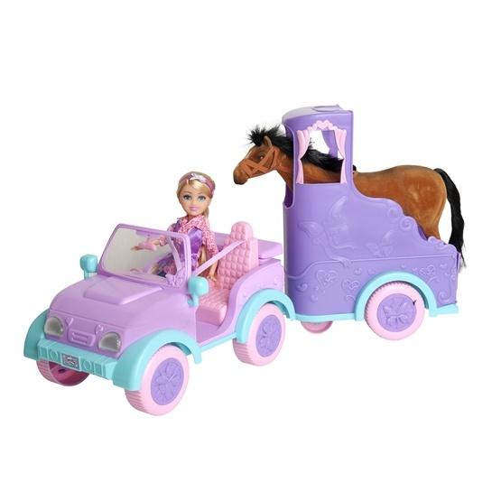 Sparkle Girlz, Hästtransport med docka