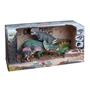 Presentförpackning med dinosaurier - grön