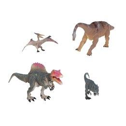 Presentförpackning med dinosaurier - grå