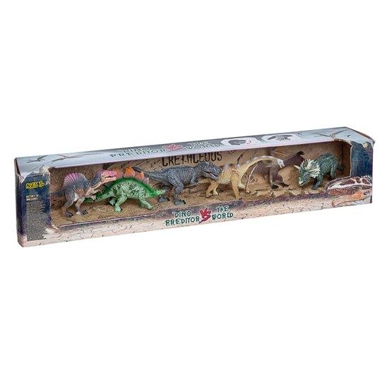 Dinosaurier i 6-pack