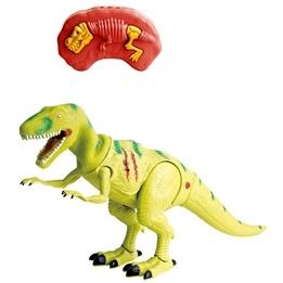 Radiostyrd dinosaurie med ljus - gul