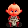 Incredibles 2, Batteridriven Baby Jack 30 cm