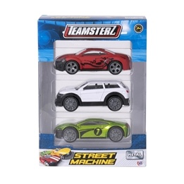 Teamsterz, Metallbil 1:43 3-pack