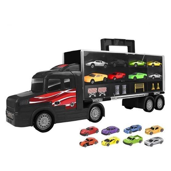 Teamsterz, Transportbil 45 cm med 8 bilar