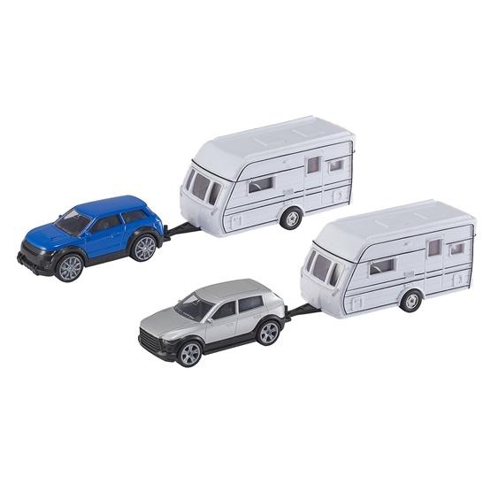 Teamsterz, Bil med husvagn 25 cm