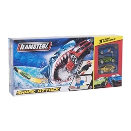 Teamsterz, Shark Attack bana med 3 bilar 30 cm