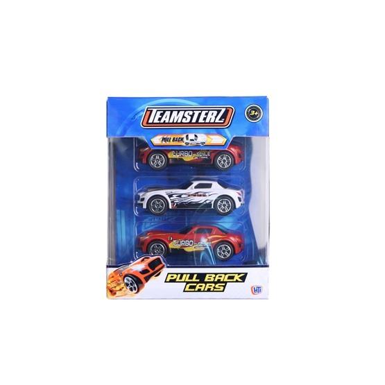 Teamsterz, Tre sportbilar med pullback-motor