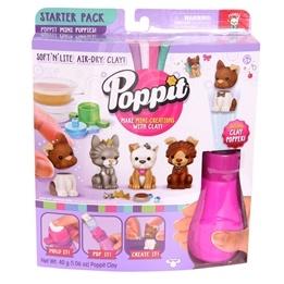 Poppit, Startpack med popper - djur