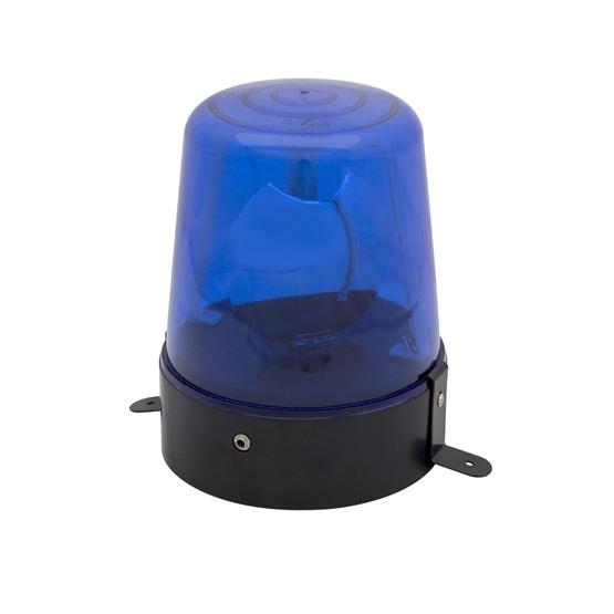 Polislampa med adapter