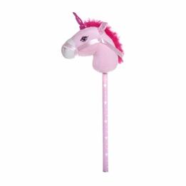 Käpphäst med ljud - Enhörning rosa