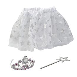 MyDarlingAngel, Kjolset med tiara & trollspö - Silver