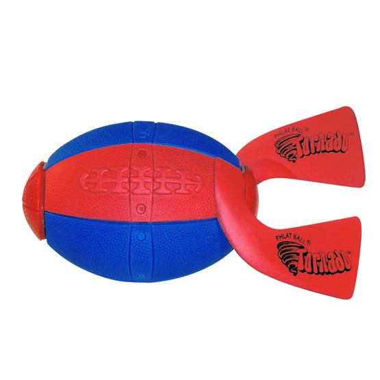 Phlat Ball Rugby- Blå/röd