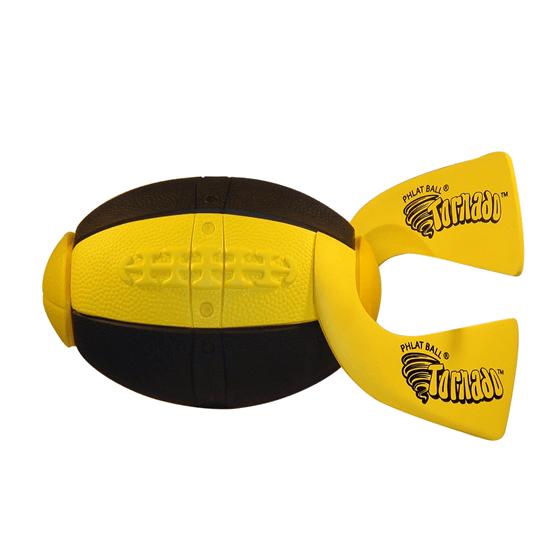 Phlat Ball Rugby- Svart/gul