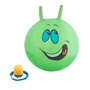 Hoppboll smiley, grön