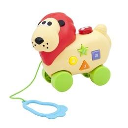 KID, Djur på hjul med ljud & ljus - Lejon