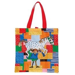 Pippi Långstrump, Quilted print - Shoppingväska