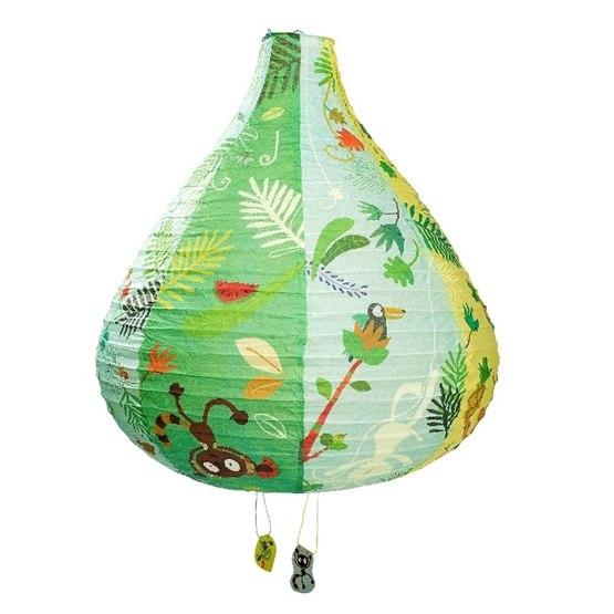 Lilliputiens, Rislampa Georges djungel 50x45 cm