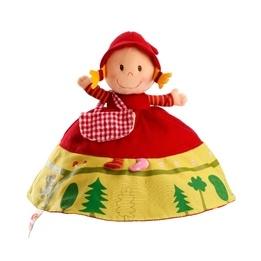 Lilliputiens, Vändbar docka, Rödluvan & Vargen 25 cm