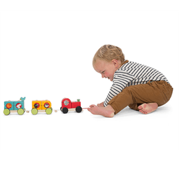 Le Toy Van, Dragtåg Med Klossar